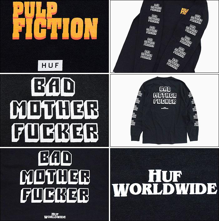 HUFハフのTシャツ PULP FICTION Bad Mother Fucker04