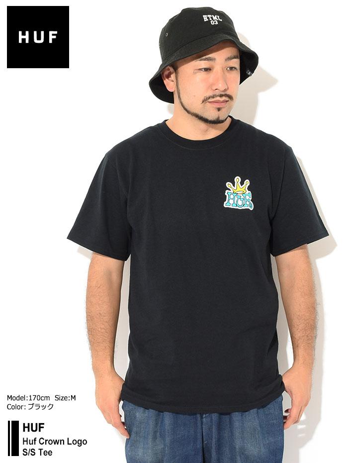 HUFハフのTシャツ Huf Crown Logo01