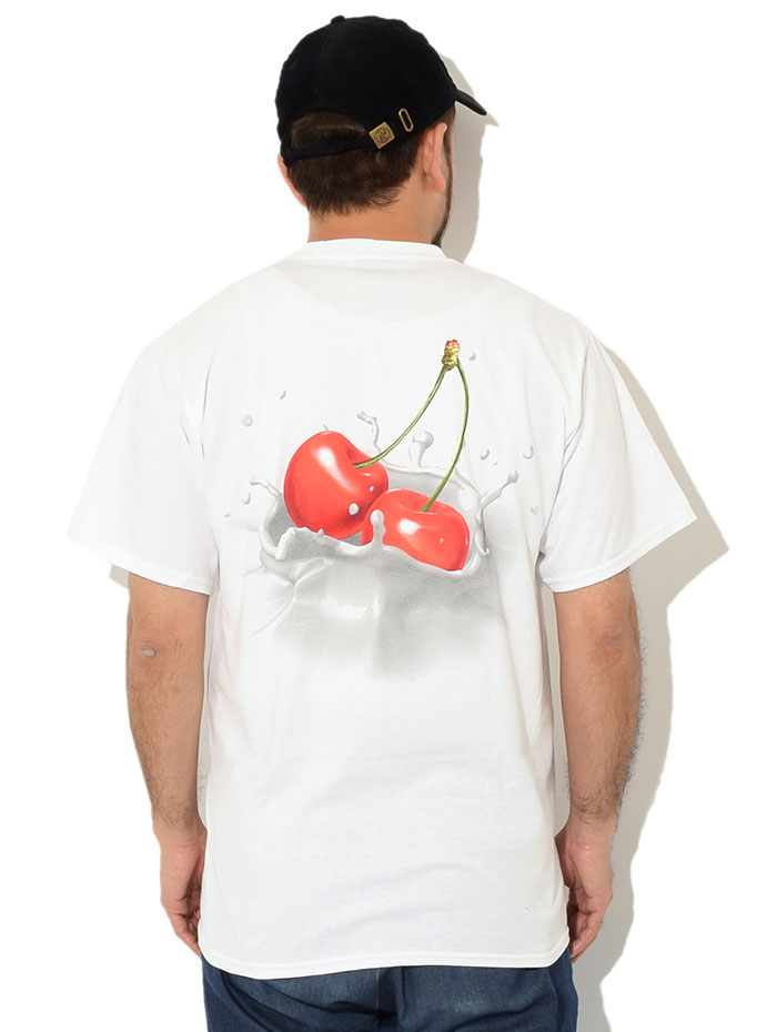 HUFハフのTシャツ Wet Cherry02