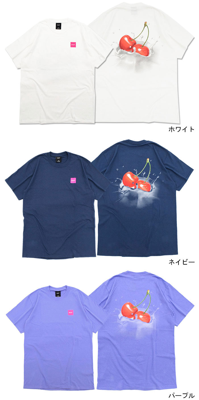 HUFハフのTシャツ Wet Cherry04