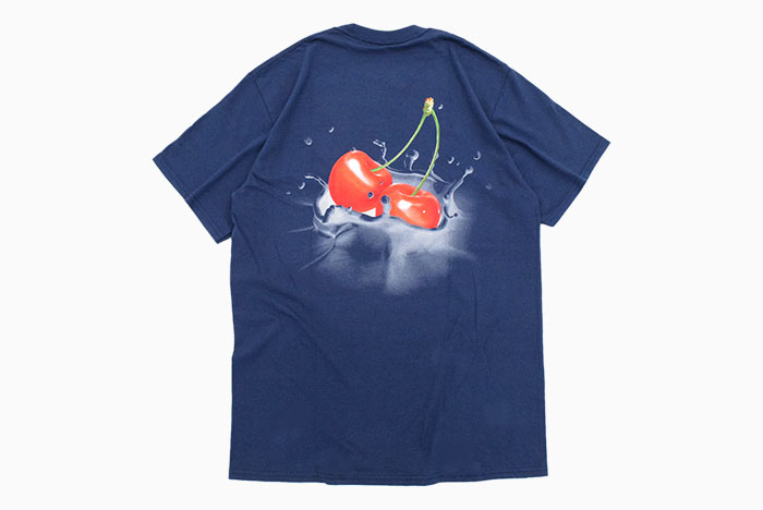 HUFハフのTシャツ Wet Cherry08