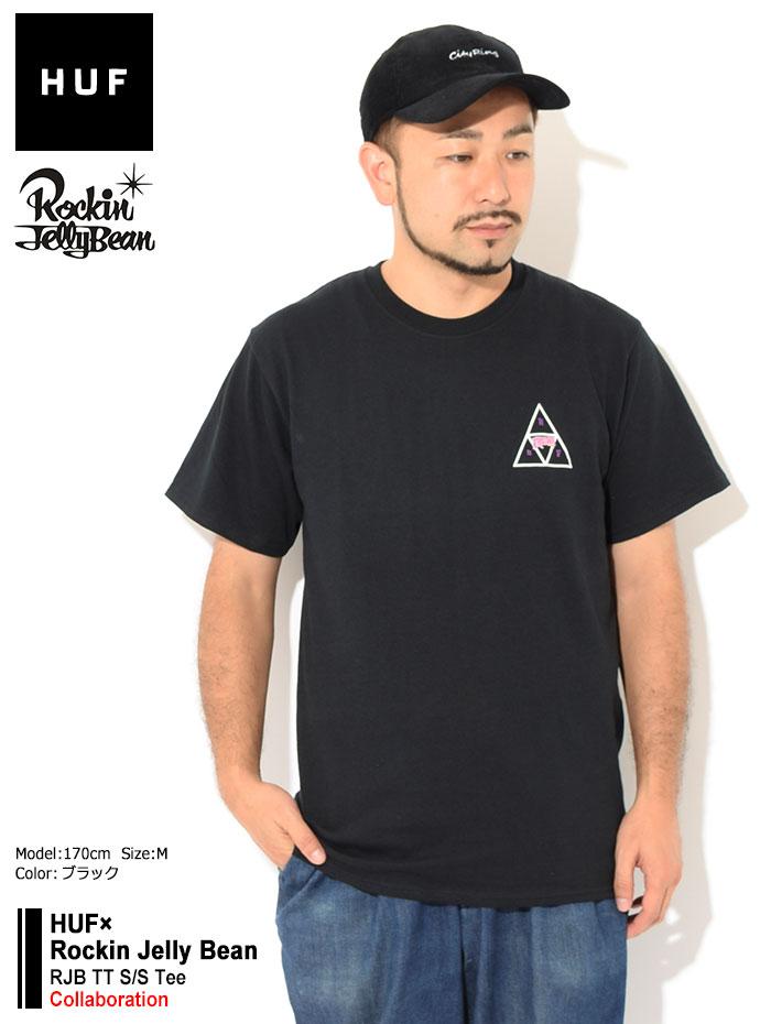 HUFハフのTシャツ Rockin Jelly Bean RJB TT01