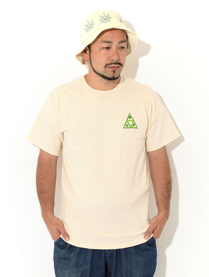 HUFハフのTシャツ Green Buddy TT03