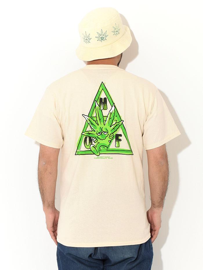 HUFハフのTシャツ Green Buddy TT04