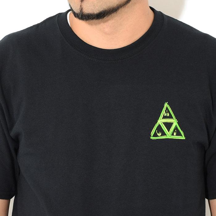 HUFハフのTシャツ Green Buddy TT05