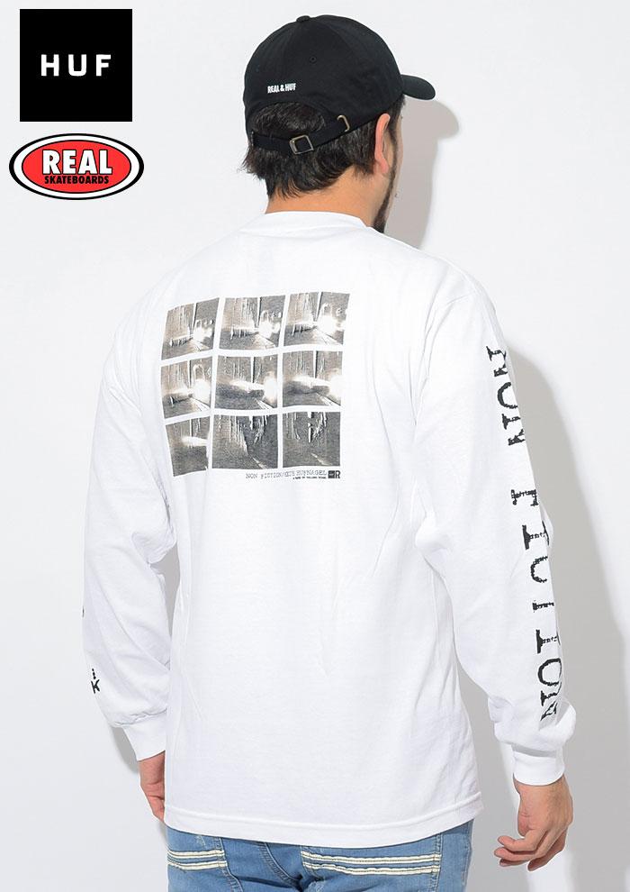 HUFハフのTシャツ REAL SKATEBOARDS Non Fiction04
