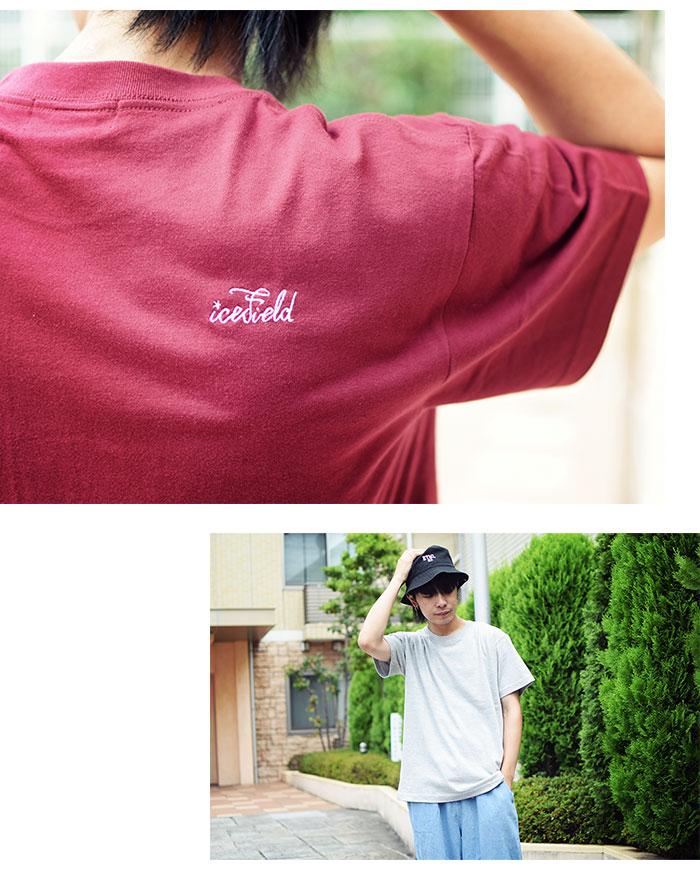 ICEFIELDアイスフィールドのTシャツ Embroidery Logo04