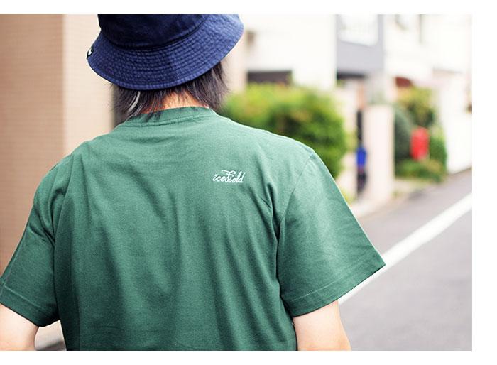 ICEFIELDアイスフィールドのTシャツ Embroidery Logo05