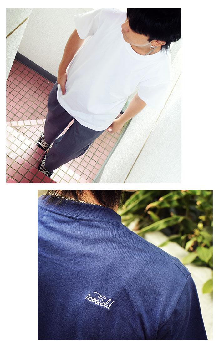ICEFIELDアイスフィールドのTシャツ Embroidery Logo07