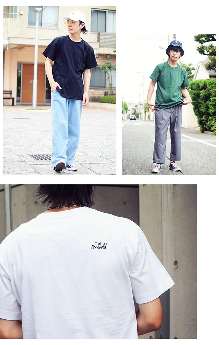 ICEFIELDアイスフィールドのTシャツ Embroidery Logo09