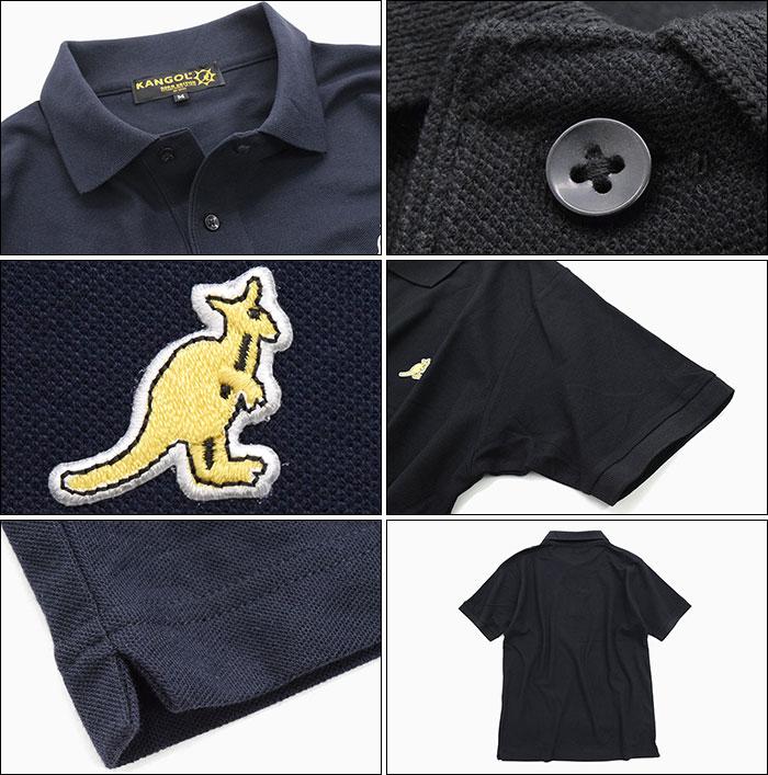KANGOLカンゴールのポロシャツ Symbolic Standard Polo09