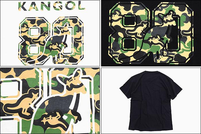 KANGOLカンゴールのTシャツ 80th College Camo02