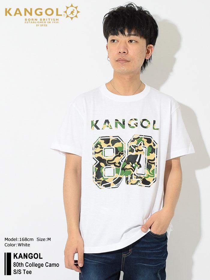 KANGOLカンゴールのTシャツ 80th College Camo01