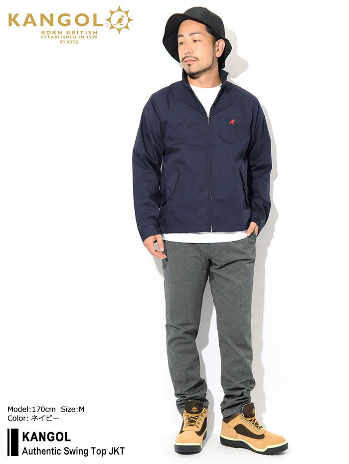 KANGOLカンゴールのジャケット Authentic Swing Top01