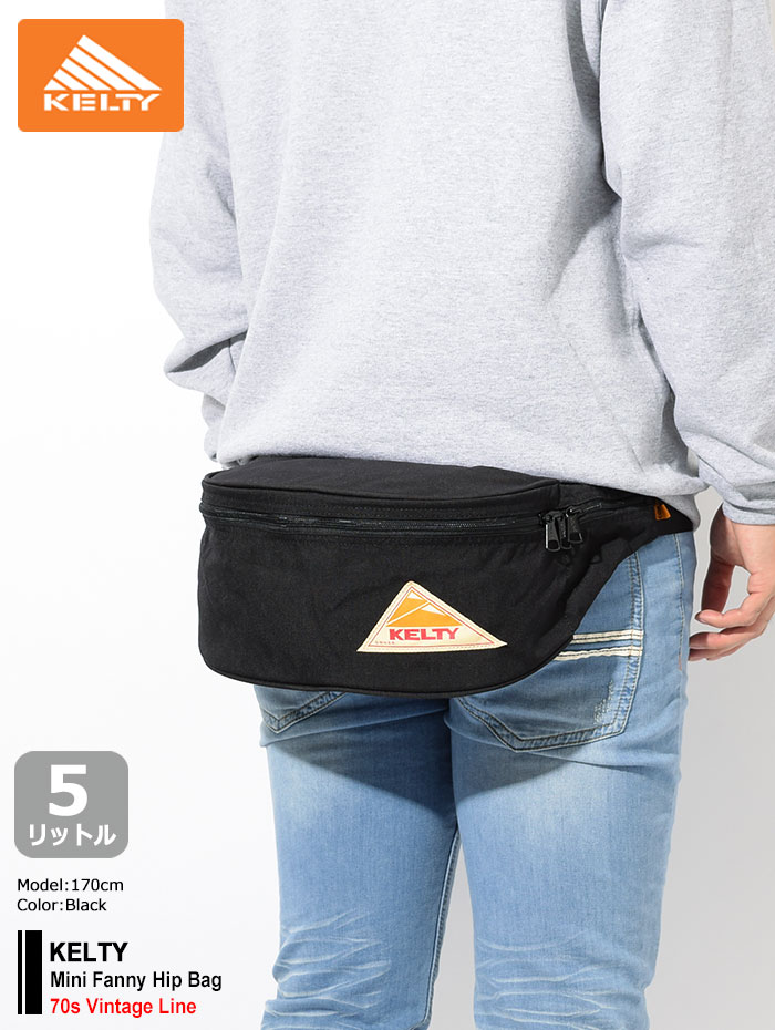 KELTYケルティのバッグ Mini Fanny Hip Bag01