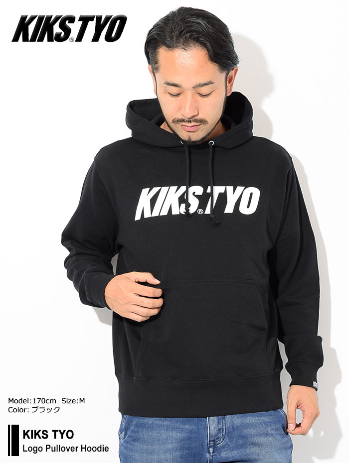 KIKS TYOキックス ティー・ワイ・オーのパーカー Logo Pullover Hoodie01