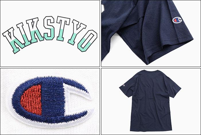 KIKS TYOキックス ティー・ワイ・オーのTシャツ Champion Arch Logo03