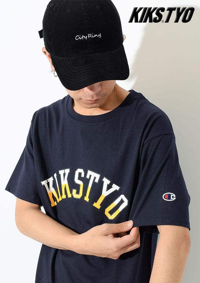KIKS TYOキックス ティー・ワイ・オーのTシャツ Champion Arch Logo02