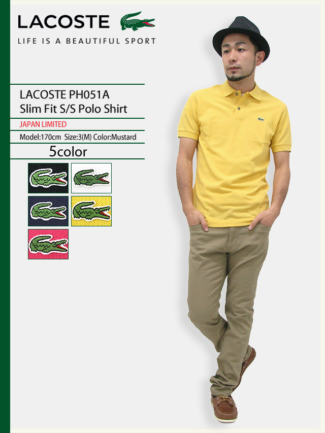 FieldLacoste Ice Slim Polo Ph051a Fit Short Shirts Y6fgb7y