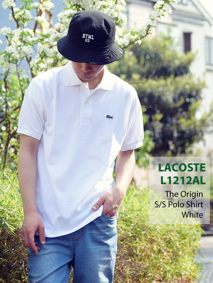 LACOSTEラコステのポロシャツ L1212AL The Origin04