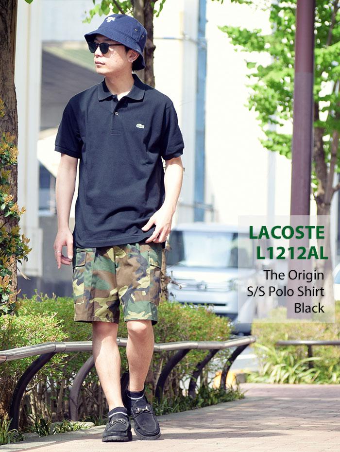 LACOSTEラコステのポロシャツ L1212AL The Origin05