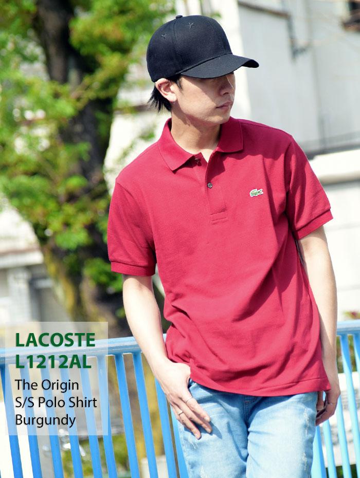LACOSTEラコステのポロシャツ L1212AL The Origin06
