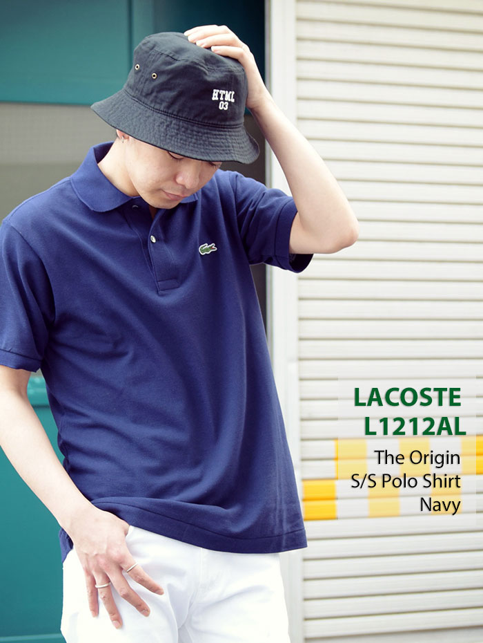 LACOSTEラコステのポロシャツ L1212AL The Origin07