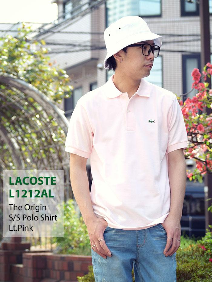 LACOSTEラコステのポロシャツ L1212AL The Origin08