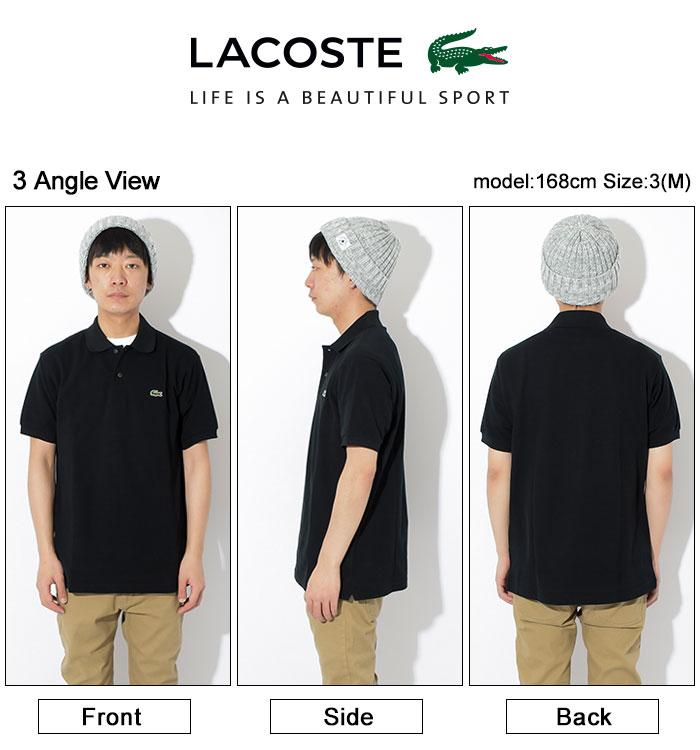 LACOSTEラコステのポロシャツ L1212AL The Origin23