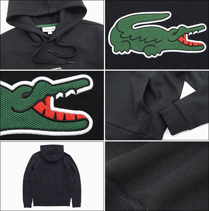 LACOSTEラコステのパーカー SH9682L Pullover Hoodie03