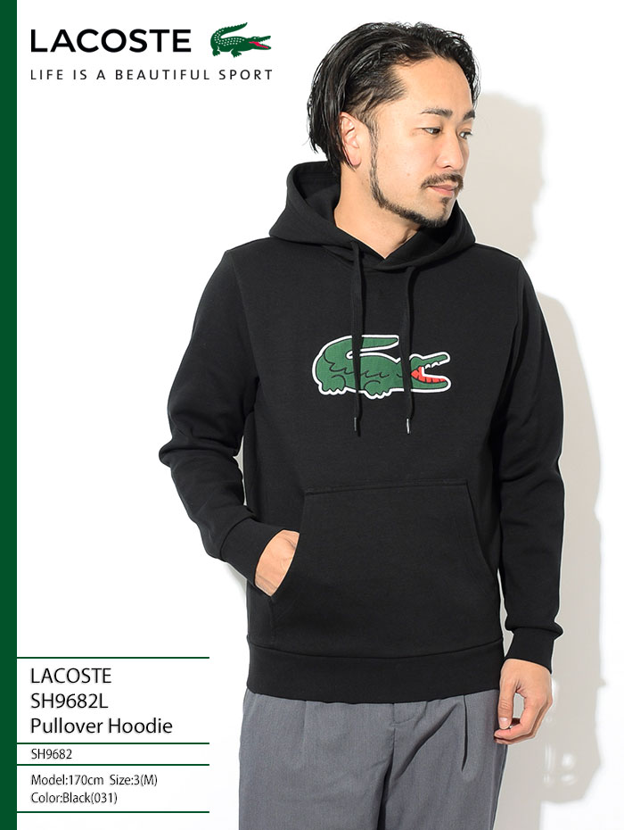 LACOSTEラコステのパーカー SH9682L Pullover Hoodie01