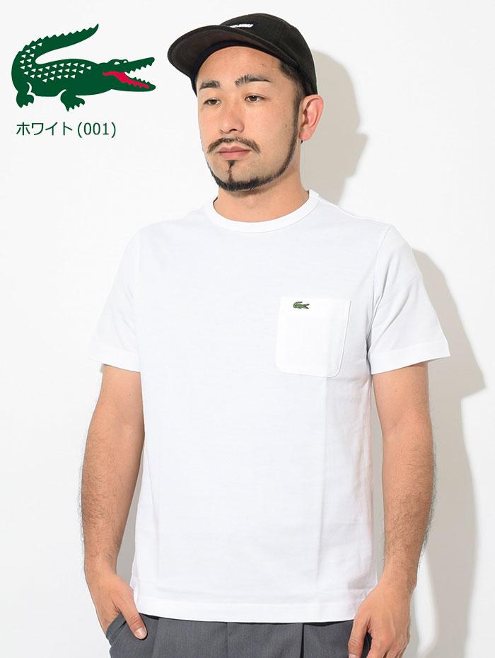 LACOSTEラコステのTシャツ TH633EM Pocket Crew Neck03