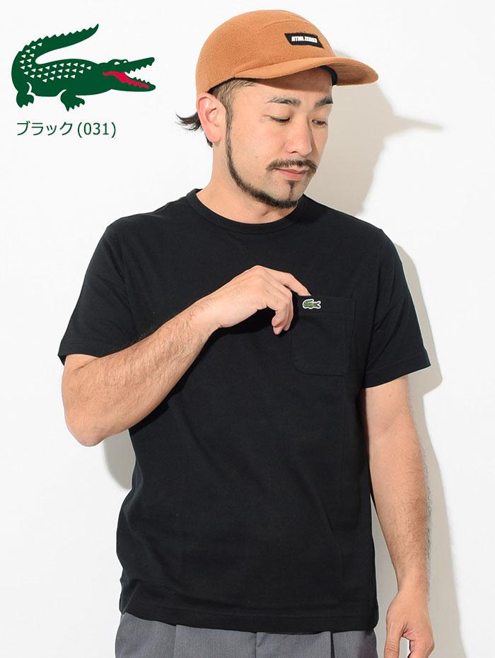 LACOSTEラコステのTシャツ TH633EM Pocket Crew Neck04