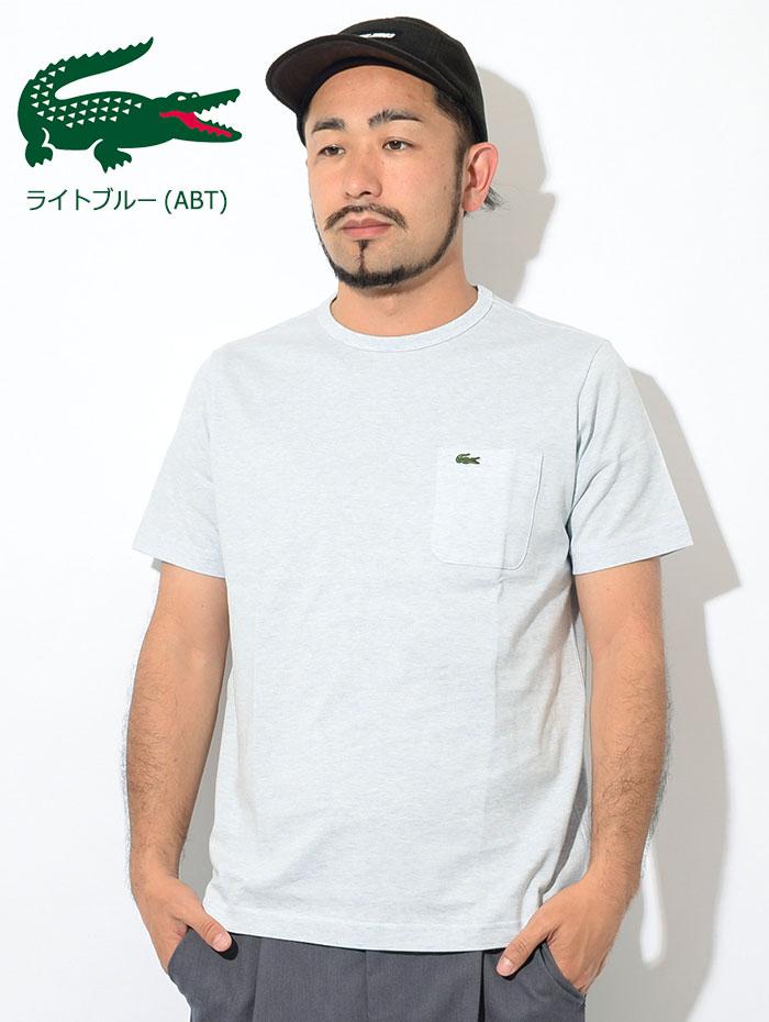 LACOSTEラコステのTシャツ TH633EM Pocket Crew Neck07