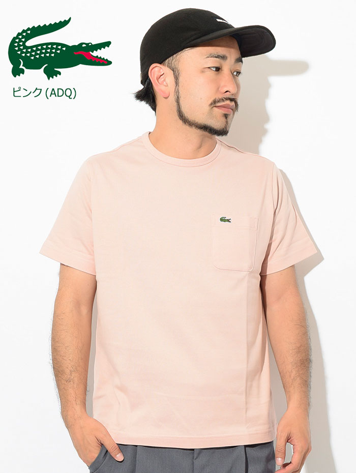 LACOSTEラコステのTシャツ TH633EM Pocket Crew Neck08