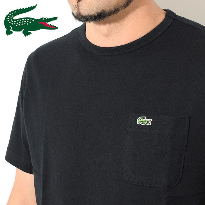 LACOSTEラコステのTシャツ TH633EM Pocket Crew Neck09