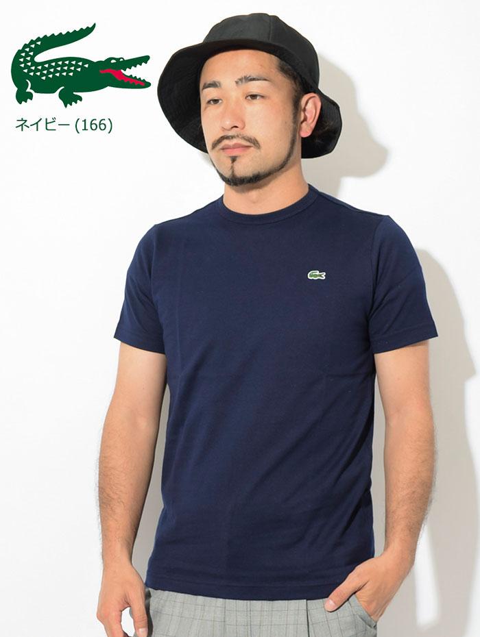 LACOSTEラコステのTシャツ TH622EM Basic Crew Neck05