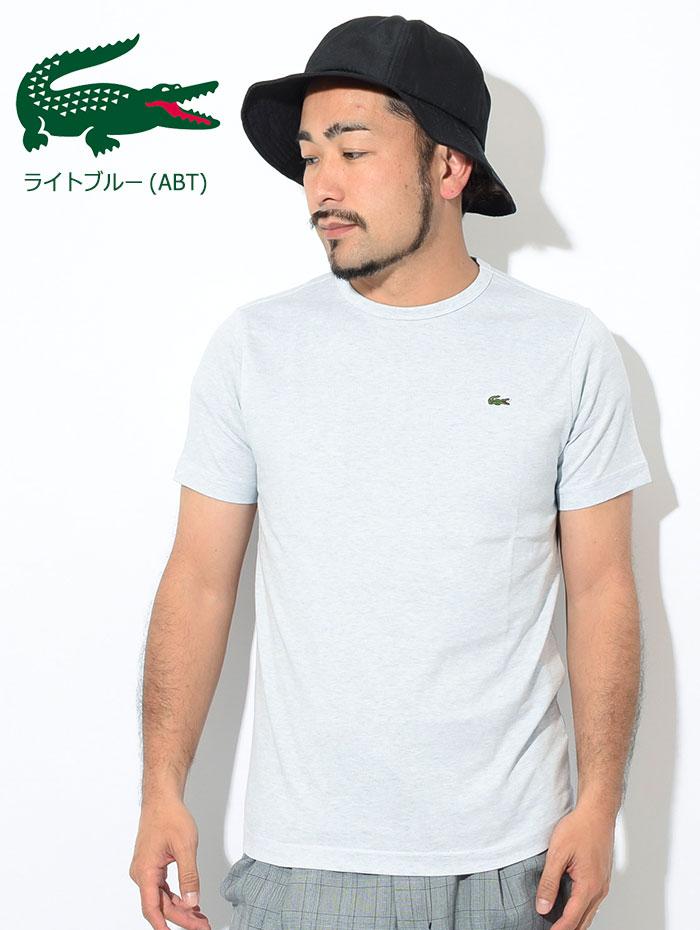 LACOSTEラコステのTシャツ TH622EM Basic Crew Neck07