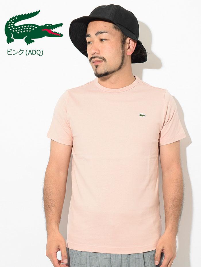 LACOSTEラコステのTシャツ TH622EM Basic Crew Neck08