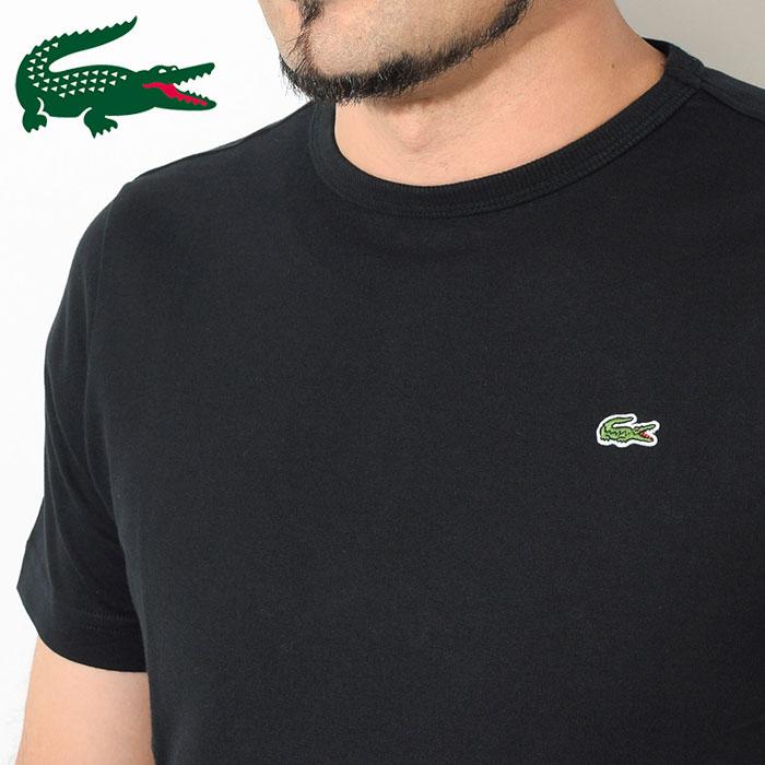 LACOSTEラコステのTシャツ TH622EM Basic Crew Neck09