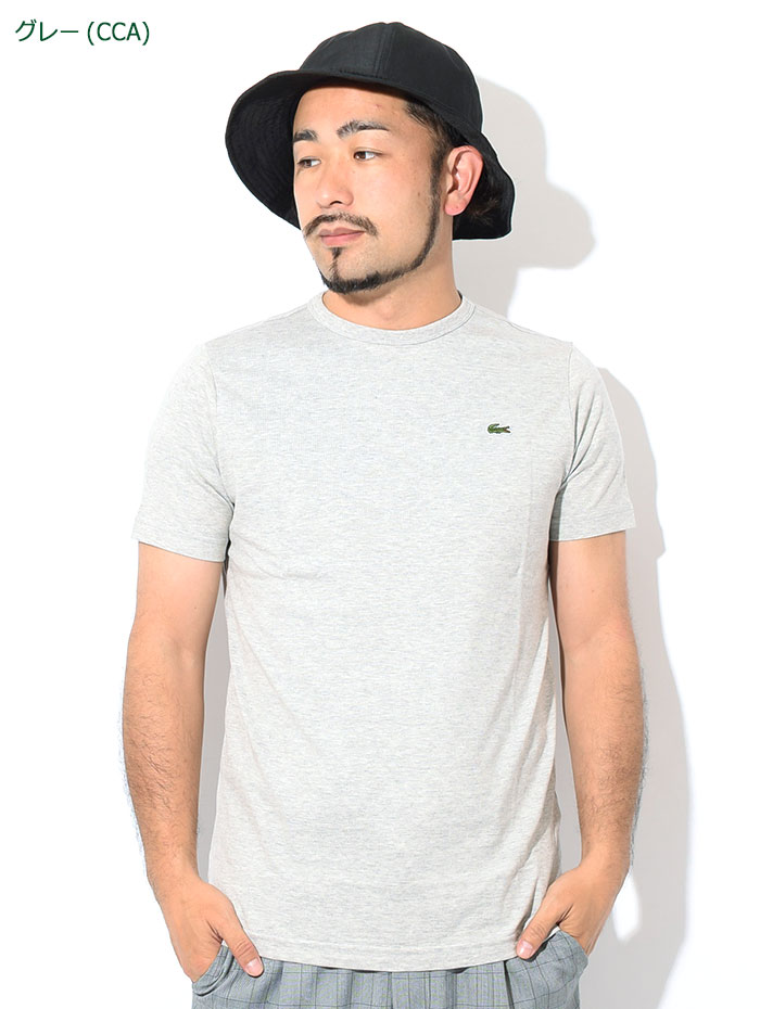 LACOSTEラコステのTシャツ TH5845L Basic Crew Neck12