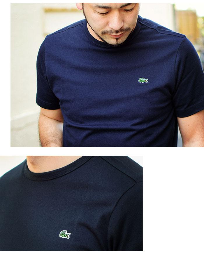 LACOSTEラコステのTシャツ TH5845L Basic Crew Neck03