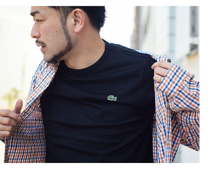 LACOSTEラコステのTシャツ TH5845L Basic Crew Neck05