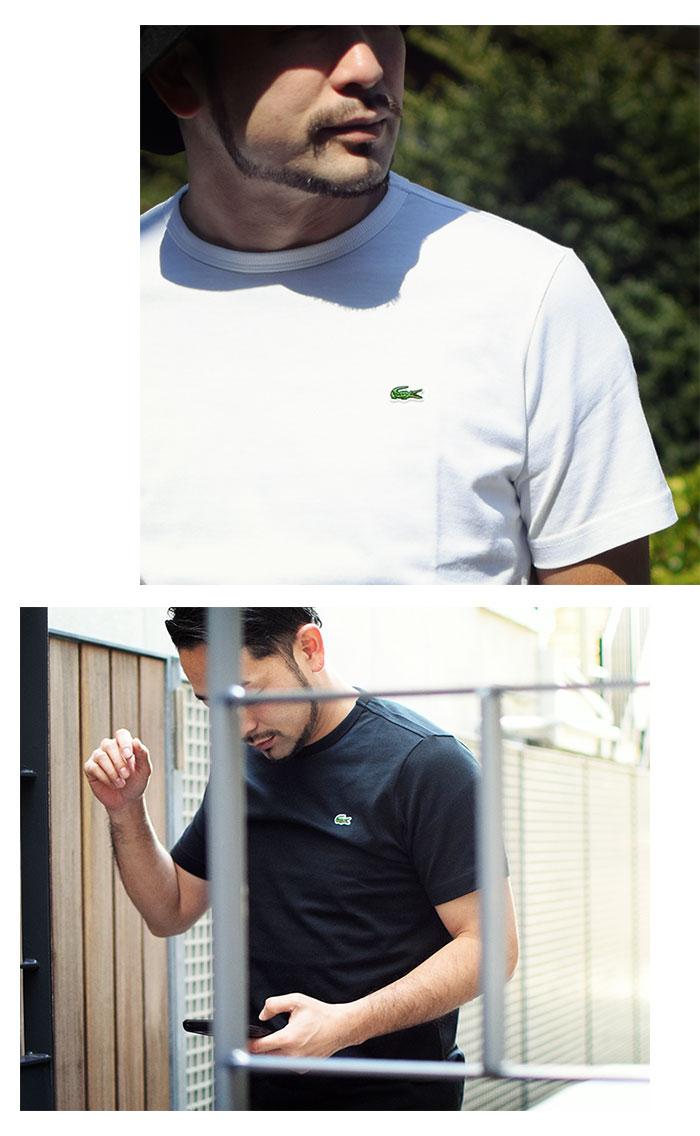 LACOSTEラコステのTシャツ TH5845L Basic Crew Neck08