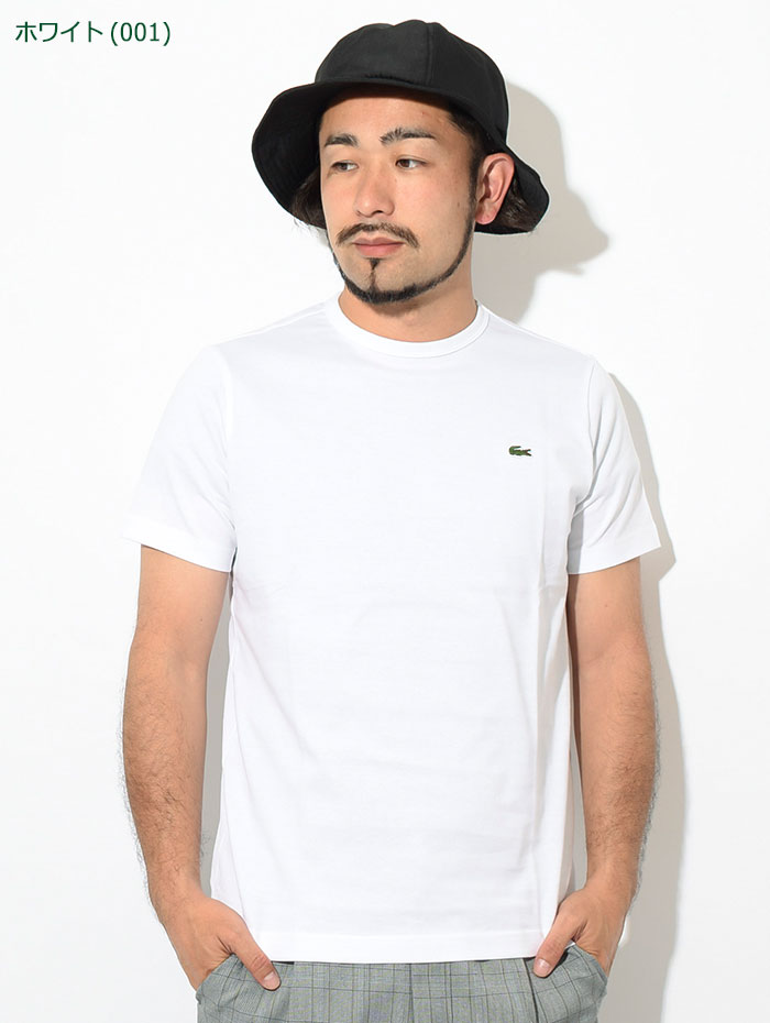 LACOSTEラコステのTシャツ TH5845L Basic Crew Neck09