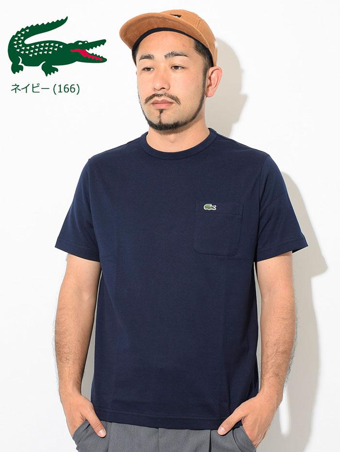 LACOSTEラコステのTシャツ TH633EM Pocket Crew Neck12