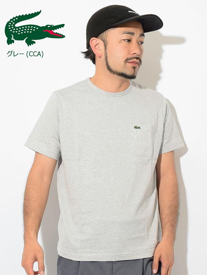 LACOSTEラコステのTシャツ TH633EM Pocket Crew Neck13