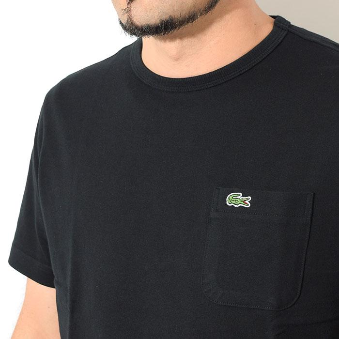 LACOSTEラコステのTシャツ TH633EM Pocket Crew Neck16