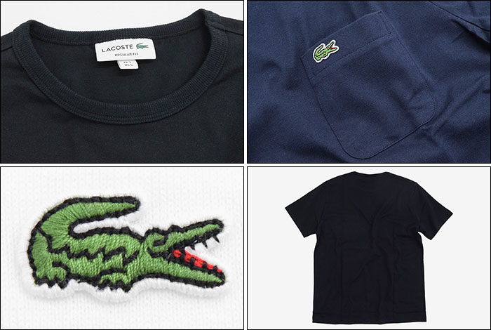 LACOSTEラコステのTシャツ TH633EM Pocket Crew Neck17