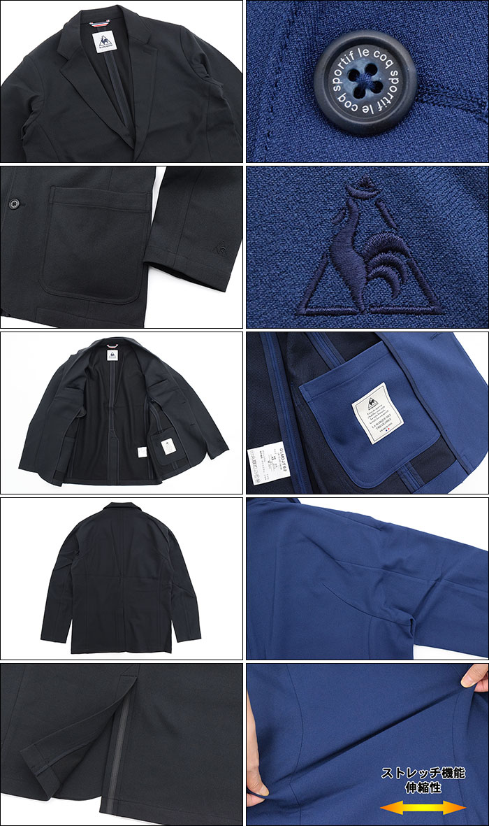 le coq sportifルコックスポルティフのジャケット NEXTEP Tailored07